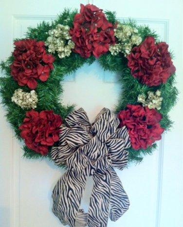 Wreath, Christmas wreath, Holiday wreath, Door wreath