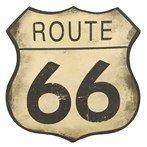 ROUTE 66 TIN SIGN, WALL DECOR, HOME DECOR