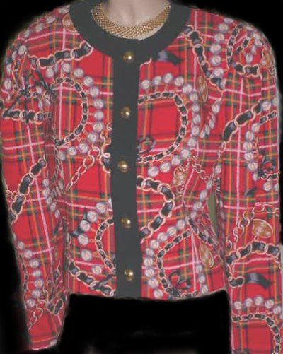 New Ladies DONCASTER Sophisticated MOD Print Jacket Size 10