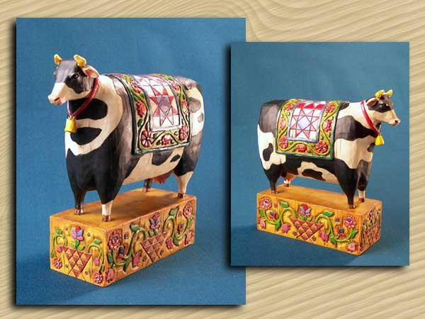 Cow Figurine by Jim Shore