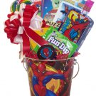 A Spidey Good Time Gift Basket