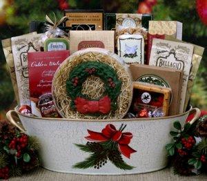 Christmas Holiday Tradition Gift Basket