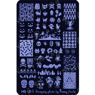 HD-D Nail Art Stamp Plate