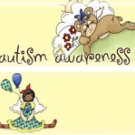 Autism Awareness Candy wrapper