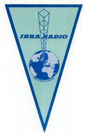 QSL Pennant from IBRA RADIO - Sweden Shop