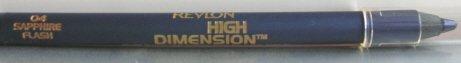 10 Revlon High Dimension Eyeliner Pencil - 04 Sapphire Flash