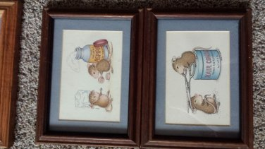 Eleven (11) House Mouse 5x7 matted prints