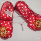 Disney Light Up Minnie Mouse Red Shoes Size 7/8
