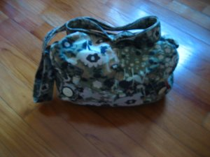 Flower Print Sling Bag
