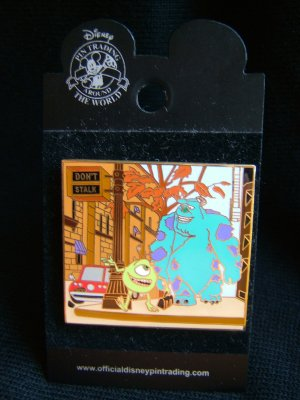 Disneyland PIN/BADGE (Monster's Inc.)