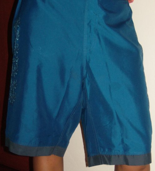 Blue Designed Bod Shorts (SIZE SM, Boys, Teens)