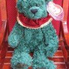 Laurel The Green Holiday Bear Ty Attic Treasure Retired