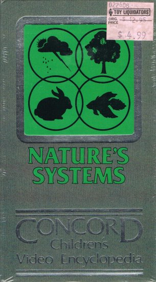 Nature's Systems Concord Children's Encyclopedia Video
