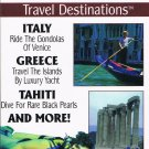 World's Most Exotic Travel Destinations Italy Greece Tahiti Video