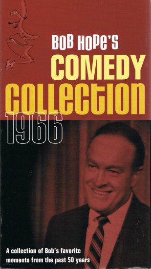 Bob Hope's Comedy Collection 1966 Video VHS