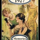 Pages Of Time Your Special Year 1927 Memories Greeting Card