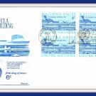 Commemorating ECLA First Day Cover Issue Envelope Stamps 1969