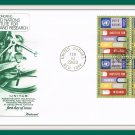 Honoring United Nations Institute For Training & Research First Day Cover Issue Envelope Stamps 1969