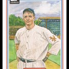 1983 Christy Mathewson #3 Donruss Hall Of Fame Heroes Baseball Trading Card