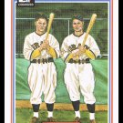 1983 The Waner Brothers #22 Donruss Hall Of Fame Heroes Baseball Trading Card