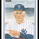 1983 Casey Stengel #37 Donruss Hall Of Fame Heroes Baseball Trading Card