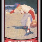 1988 Red Schoendienst #2 Baseball Legends Trading Card Pacific