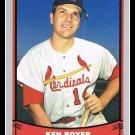 1988 Ken Boyer #12 Baseball Legends Trading Card Pacific