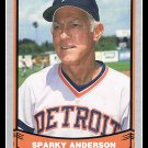 1988 Sparky Anderson Manager #46 Pacific Baseball Legends Trading Card