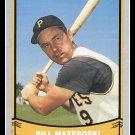 1988 Bill Mazeroski #60 Pacific Baseball Legends Trading Card
