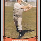 1988 George Kell #69 Pacific Baseball Legends Trading Card