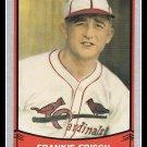 1989 Frankie Frisch #113 Pacific Baseball Legends Trading Card