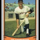 1989 Jim Davenport #118 Pacific Baseball Legends Trading Card