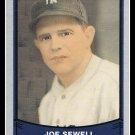 1989 Joe Sewell #125 Pacific Baseball Legends Trading Card