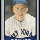 1989 Spud Chandler #136 Pacific Baseball Legends Trading Card