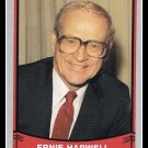 1989 Ernie Harwell #172 Broadcaster Pacific Baseball Legends Trading Card