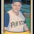 1989 Smoky Burgess #201 Pacific Baseball Legends Trading Card