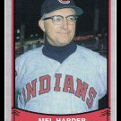 1989 Mel Harder #205 Pacific Baseball Legends Trading Card