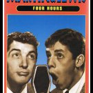 Television Classics Dean Martin & Jerry Lewis VHS Video Four Hours Comedy
