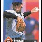 1993 Bud Black #50 Series 1 Donruss Baseball Trading Card