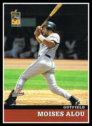 2001 Moises Alou #16 Topps 50 Years Baseball Trading Card Collector's Series