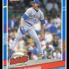 1991 Randy Johnson #BC-2 Donruss Baseball Trading Card