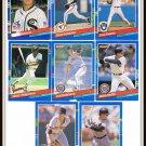 1991 Donruss Baseball Trading Cards Paul Gibson Dave Johnson Bob Melvin Mike Heath