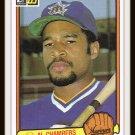 1983 Al Chambers #649 Donruss Baseball Trading Card
