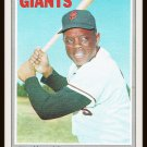 Willie Mays #600 Topps 1970 Baseball Card San Francisco Giants Outfield Hall Of Famer