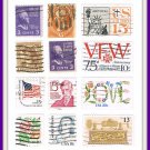 United States U.S. Stamps 38 Vintage