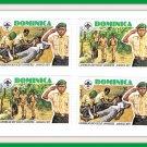 Dominica Stamps Caribbean Boy Scout Jamboree Jamaica 1977