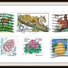 USA Stamps Flora & Fauna Series 1990-2001 United States