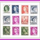 Australia Queen Elizabeth II Postage Stamps 24