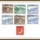 Pakistan Postage Stamps Cancelled