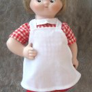 Campbell Soup Kid Porcelain Doll Danbury Mint 1995 The Dancing Chef